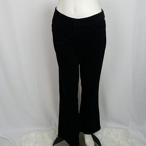 Ann Taylor Black Corduroy Lindsay Bootcut Pants
